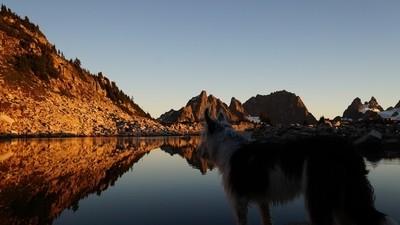 Sunset at Tank Lake
