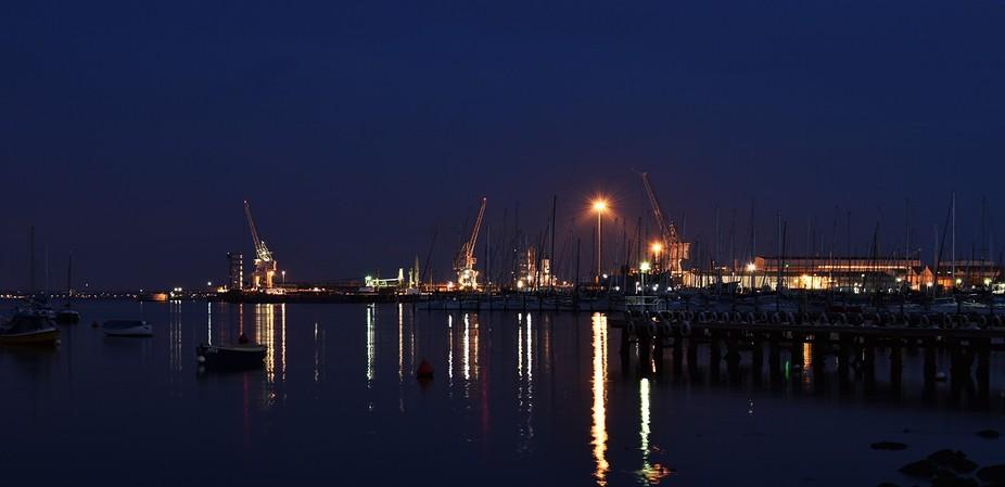 Night photo taken Melbourne Australia