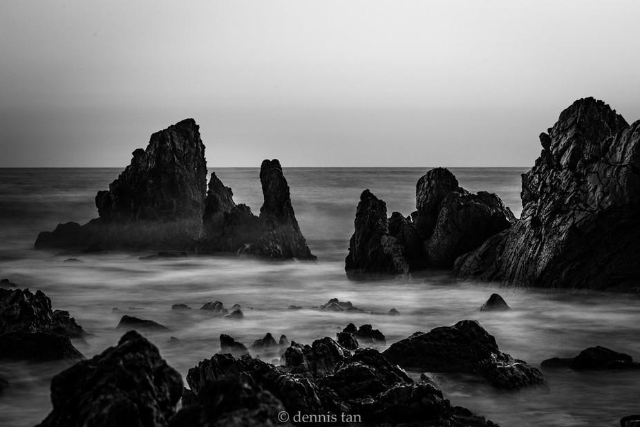 Exploring long exposure seascape photography