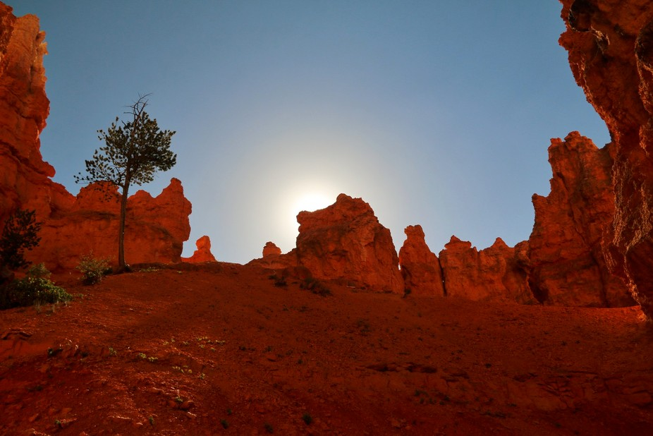Shooting the sunrise at Bryce Canyon National Park