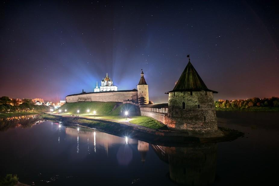 The fairytale town of Pskov