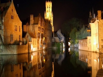 Night in Bruges