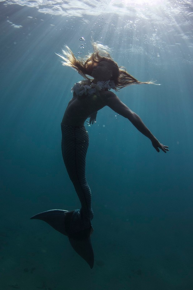Mermaid Rachel 006 by CreationScape - One With Nature Photo Contest