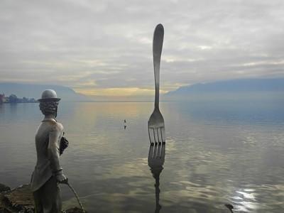 Lake Geneva at Vevey