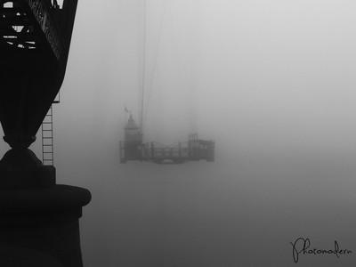 Foggy Over The Usk