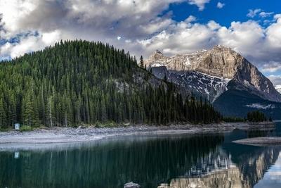 Forest Lake, Mountain, Kananasksis
