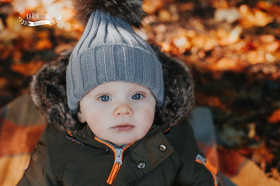 Autumn has to be my most favourite time to carry out child portraits, the light is just beautiful...