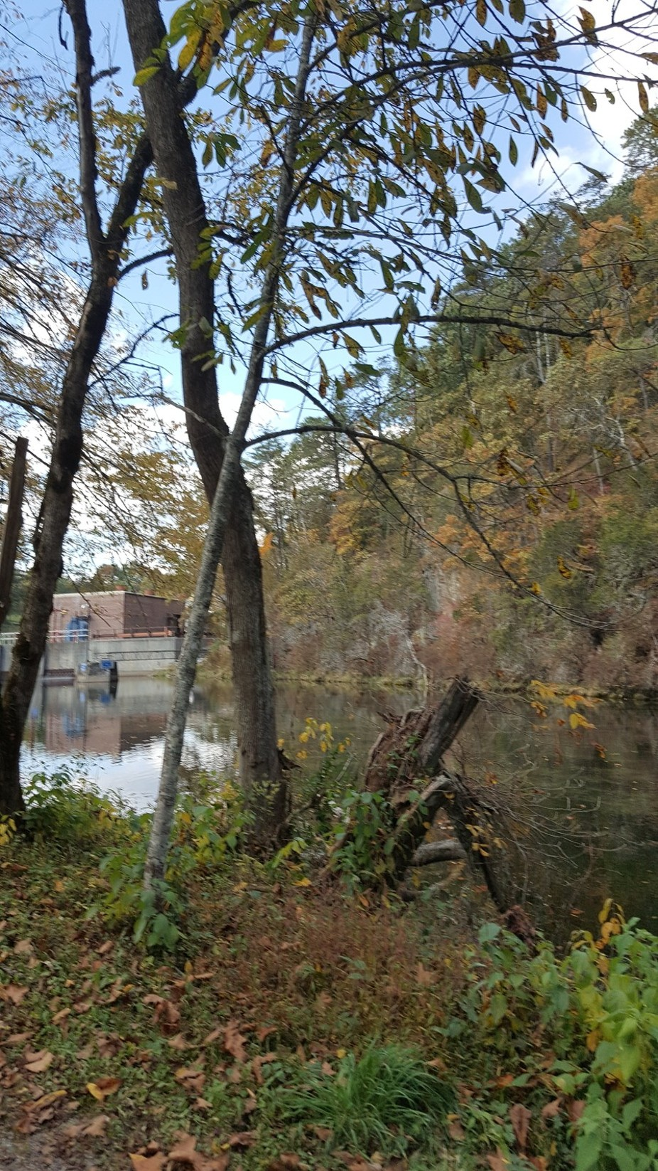 South Holston Dam Oct 17, 2016
