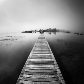 On October 18, 2016 there was a super moon tide on Cape Cod.  The full tide was at 12:14 in the afternoon as I arrived the fog was rolling in ove...