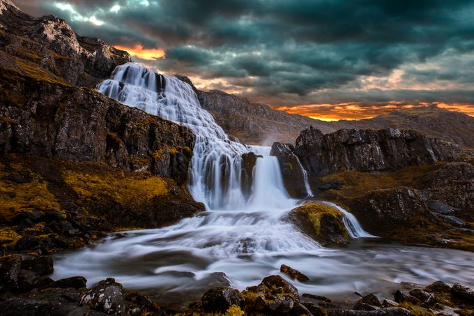 Magical Dynjandi by paaluglefisklund - Long Exposure In Nature Photo Contest