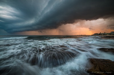 **Sunset Storm Front**