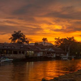Sunset in Paraty