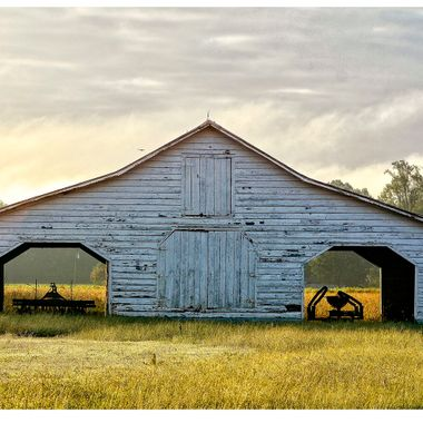 Barn with two openings