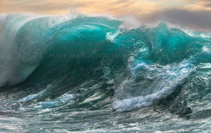 wave away by pansybrandtwinters - The Ocean Photo Contest