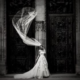 Black and White Bride by Dawn van Doorn.