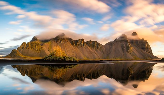 Vestrahorn at Sunrise by Vanexusphotography - Monthly Pro Vol 27 Photo Contest