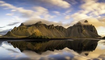 Vestrahorn at Sunrise