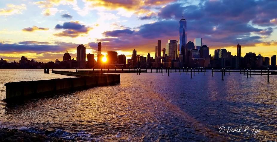 World_Trade_Center_Sunrise