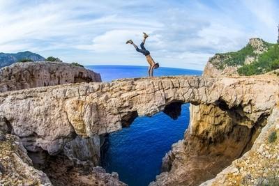 Adrenaline on the rocks, please.