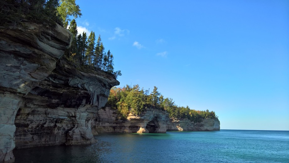 Pictured Rocks, Upper Peninsula, Michigan USA