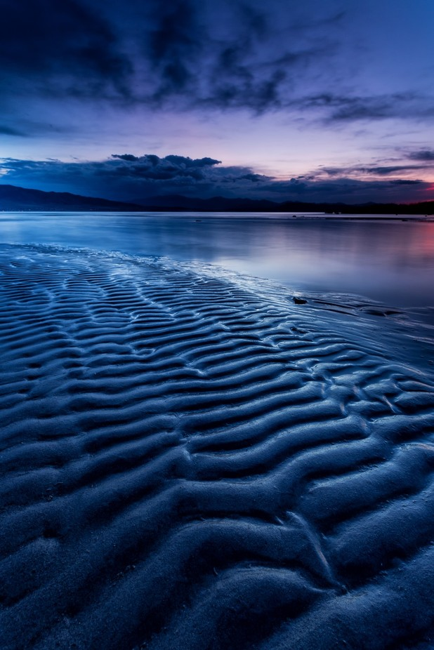 Ripples in the sand by christianpeay - Composing with Patterns Photo Contest