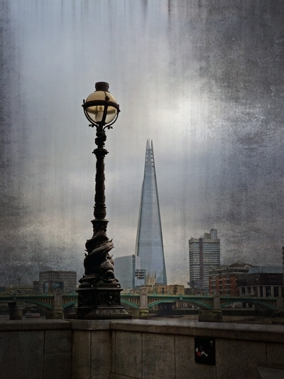 Dolphin Lamps and The Shard