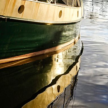 Sailboat reflection