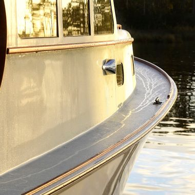 Boat edge detail I