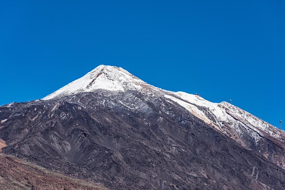 Teide snow 1