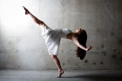 parking garage dancing.