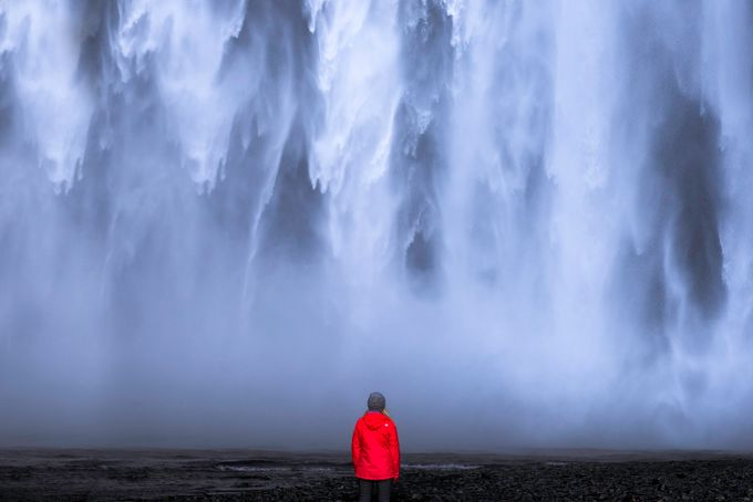 The Power of Skógafoss by Vanexusphotography - The Zen Moment Photo Contest