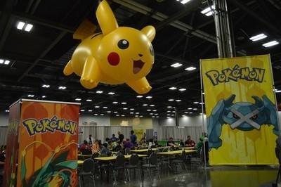 Giant Pikachu!
