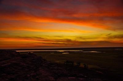 Ubirr sunset, Kakadu NP, Australia