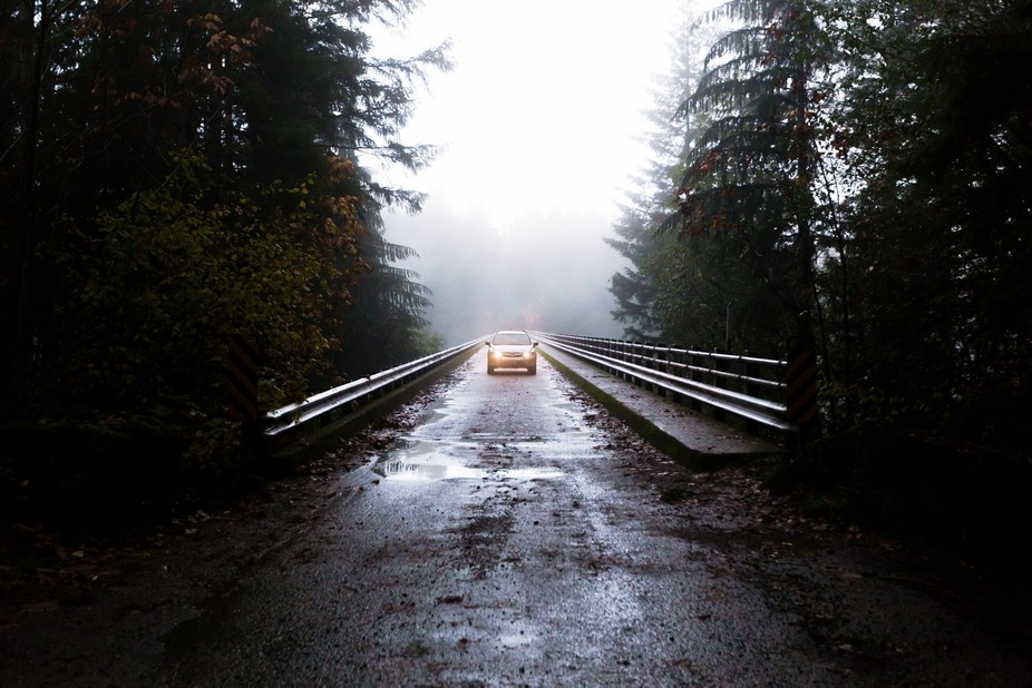 Road tripping through the Pacific Northwest in Washington, USA.  Some back forest roads led us to...