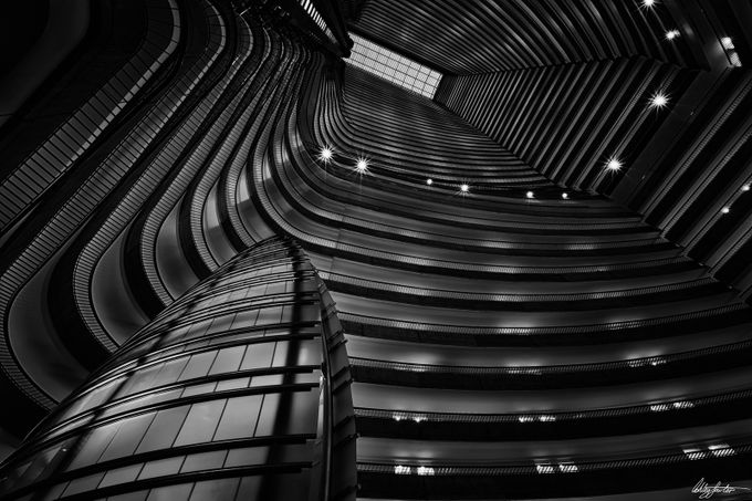 The Black hole by ashleysowter - Black And White Architecture Photo Contest