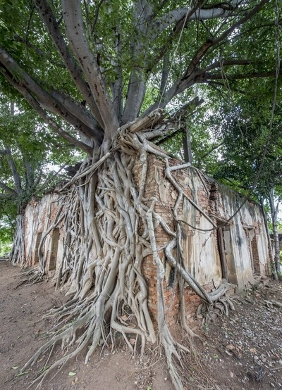 """Ubosot"" (Ordination Hall) of Wat Sang Kratai"