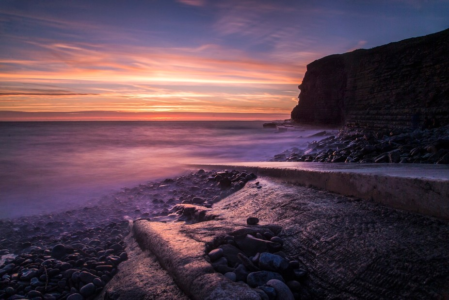 Had some stunning colours to this sunset, really enjoyed spending a bit of time down the beach I ...