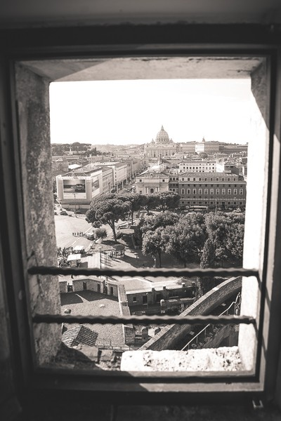 St. Peter view from Castel Sant'Angelo