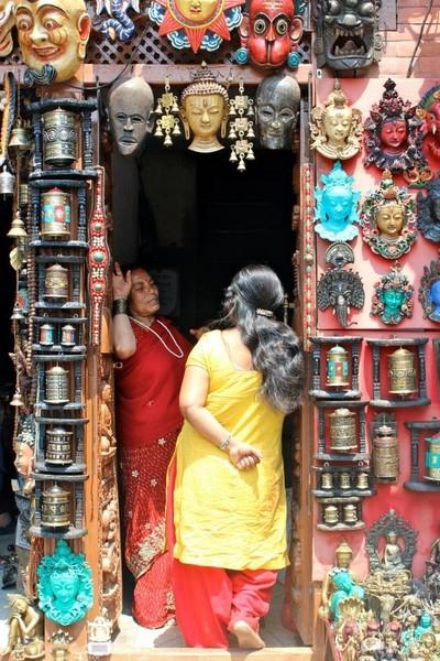 Many Faced Door