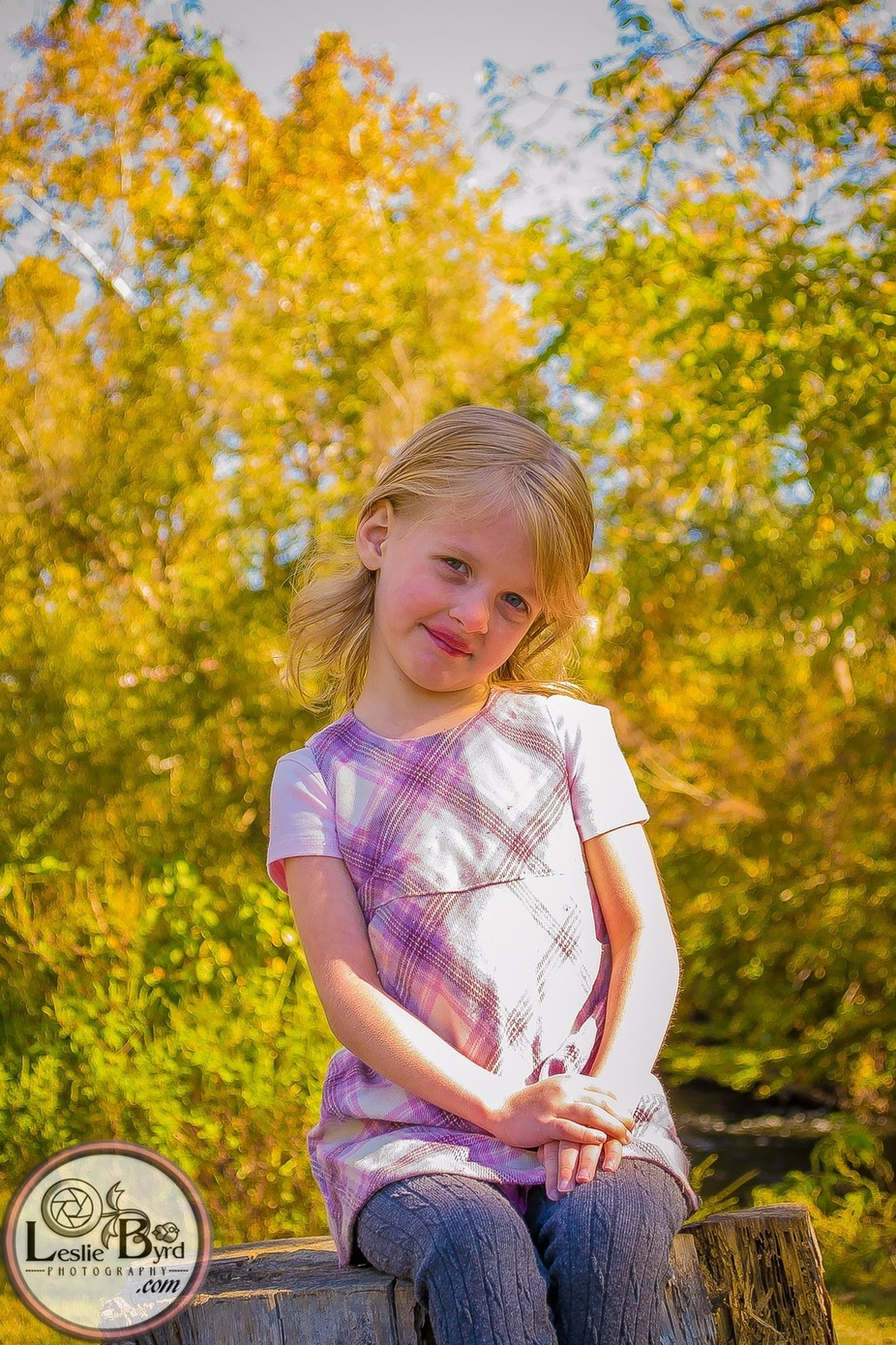 An image of one of my favorite subjects, my little girl. Image captured at a local park.
