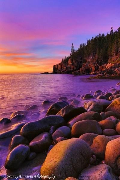 boulder beach portrait