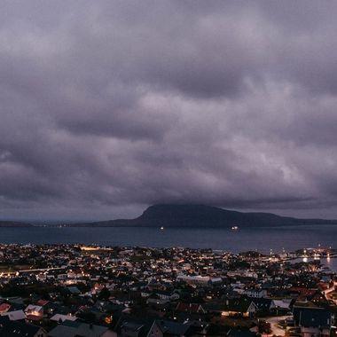 Twilght over Torshavn