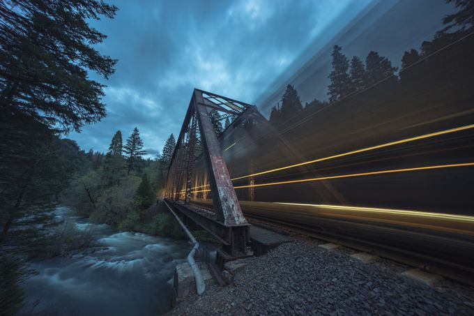 Dunsmuir Crossing by Jbbevel - Capture Motion Blur Photo Contest
