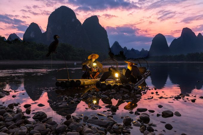 Fishermen of Li River by Duangmon - Around the World Photo Contest By Discovery