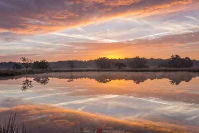 Sunrise reflexion