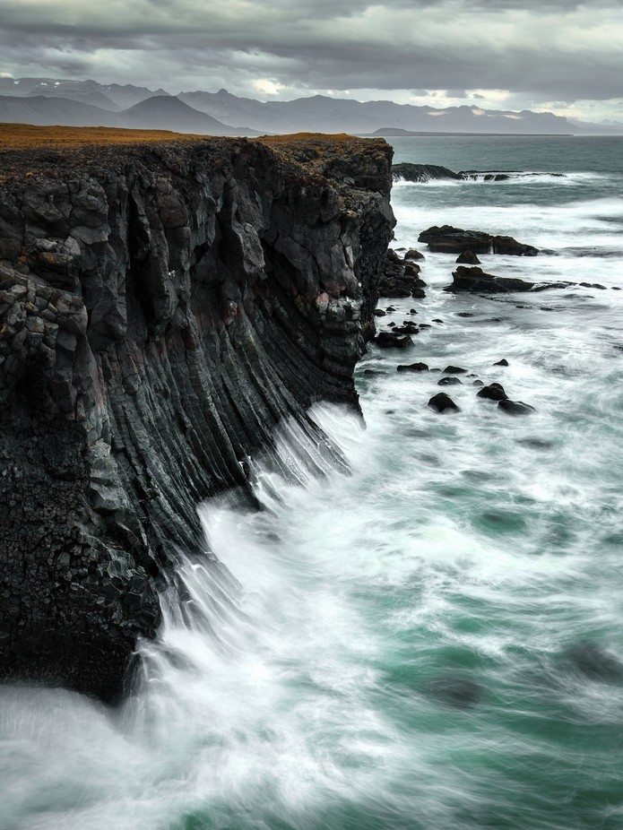 Basalt cliffs of Arnarstapi by madspeteriversen - Spectacular Cliffs Photo Contest