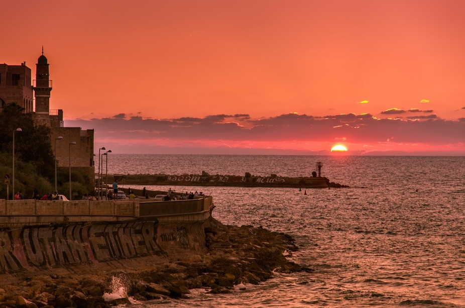 Just another sunset in Haifa