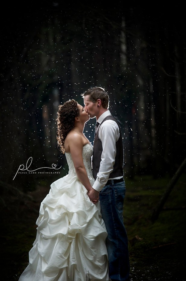 Married in the rain by PaigeLaroPhotography - Candid Wedding Moments Photo Contest