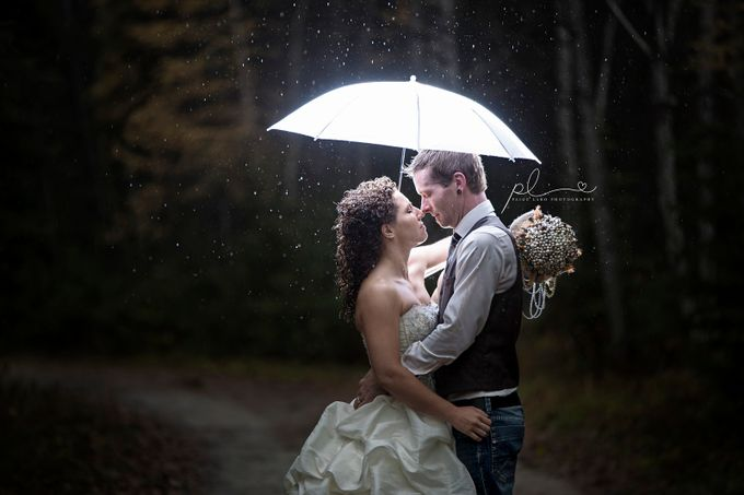 Married in the rain2 by PaigeLaroPhotography - Artificial Light Photo Contest 2017