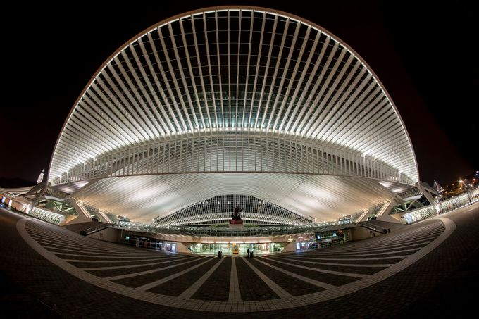 Guillemins, Liège, Belgium by Pjerry - Metro Stations Photo Contest